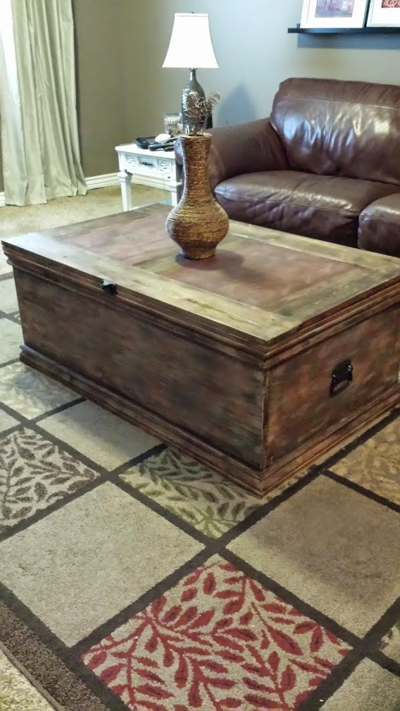 Build a Storage Trunk Sawdustsisters.com