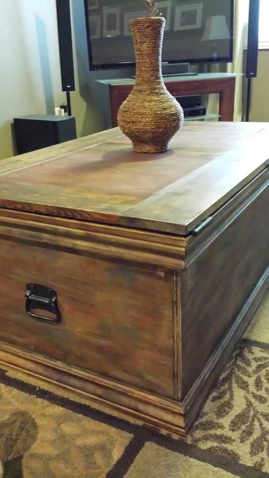 Build a Storage Trunk Sawdustsisters.com