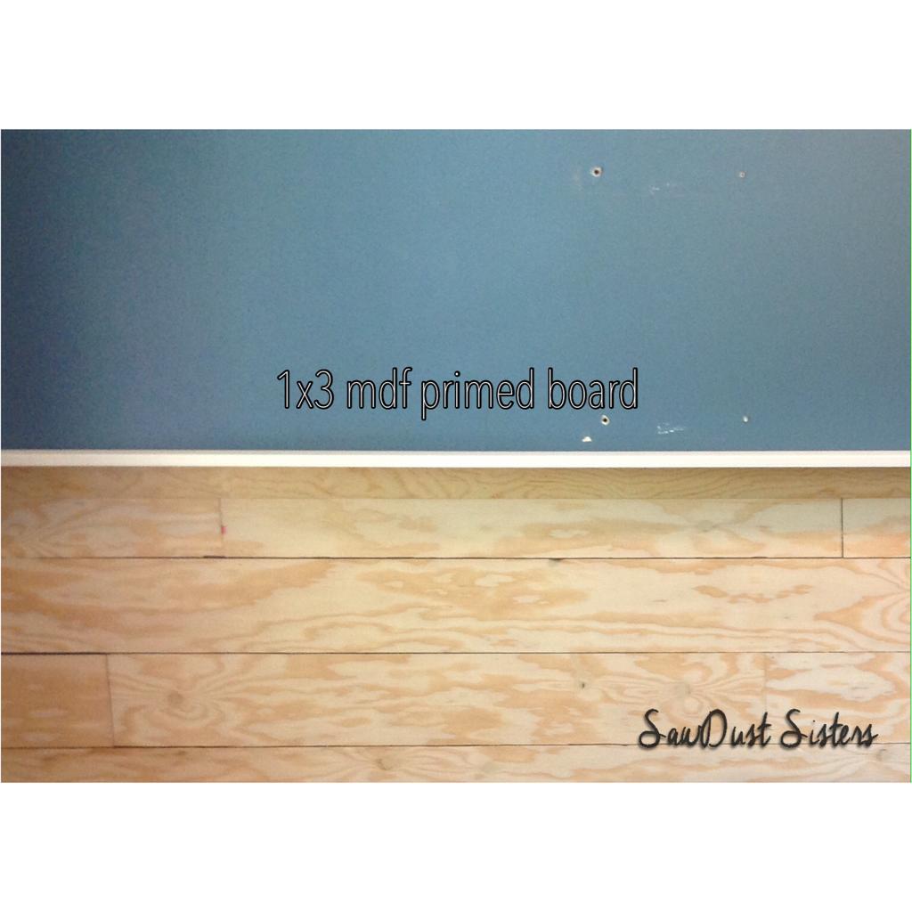 DIY Entry Way Plank Wall {Video Tutorial} - Sawdust Sisters