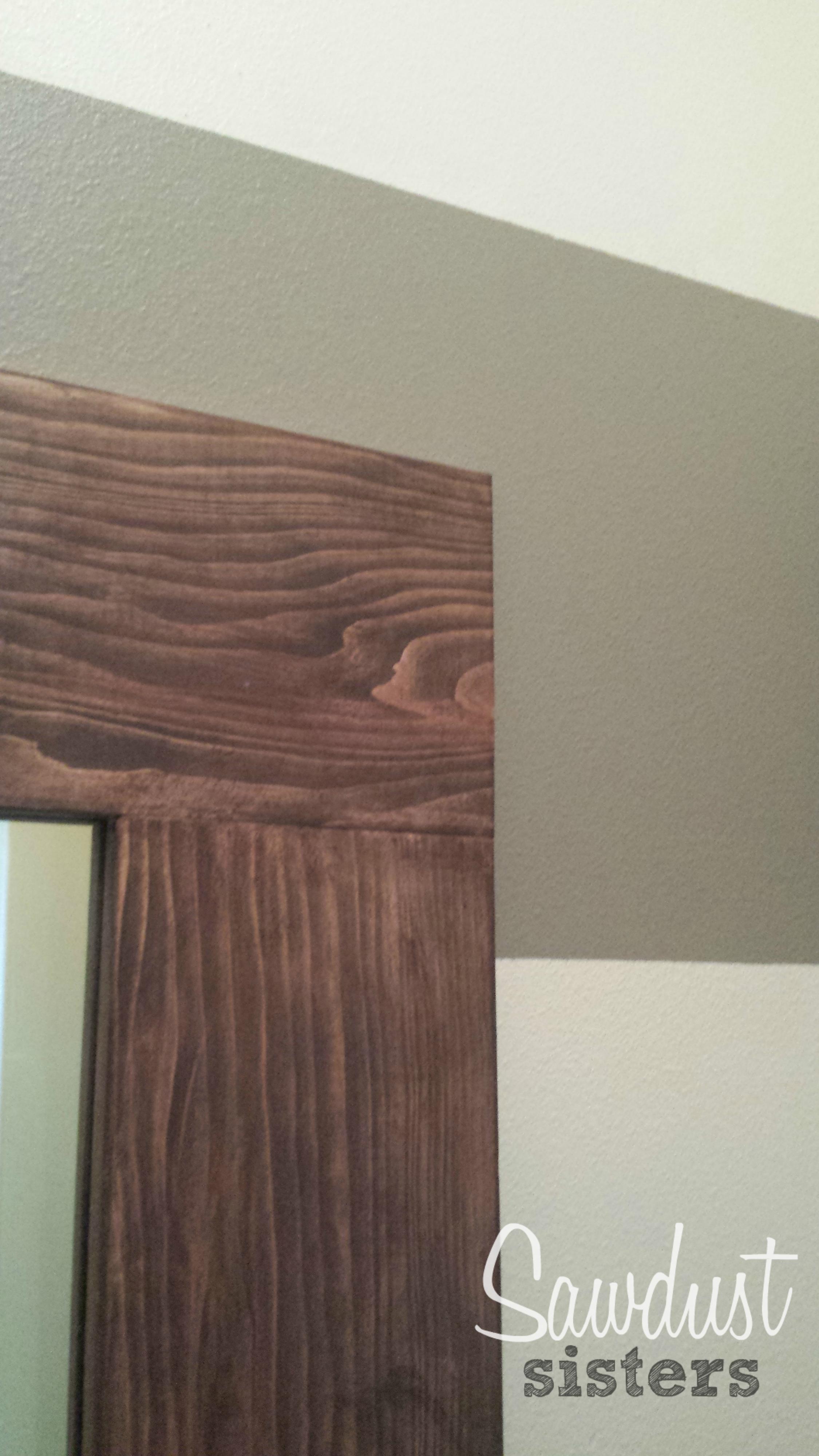 Diy Floor Length Mirror Frame Tutorial Sawdust Sisters