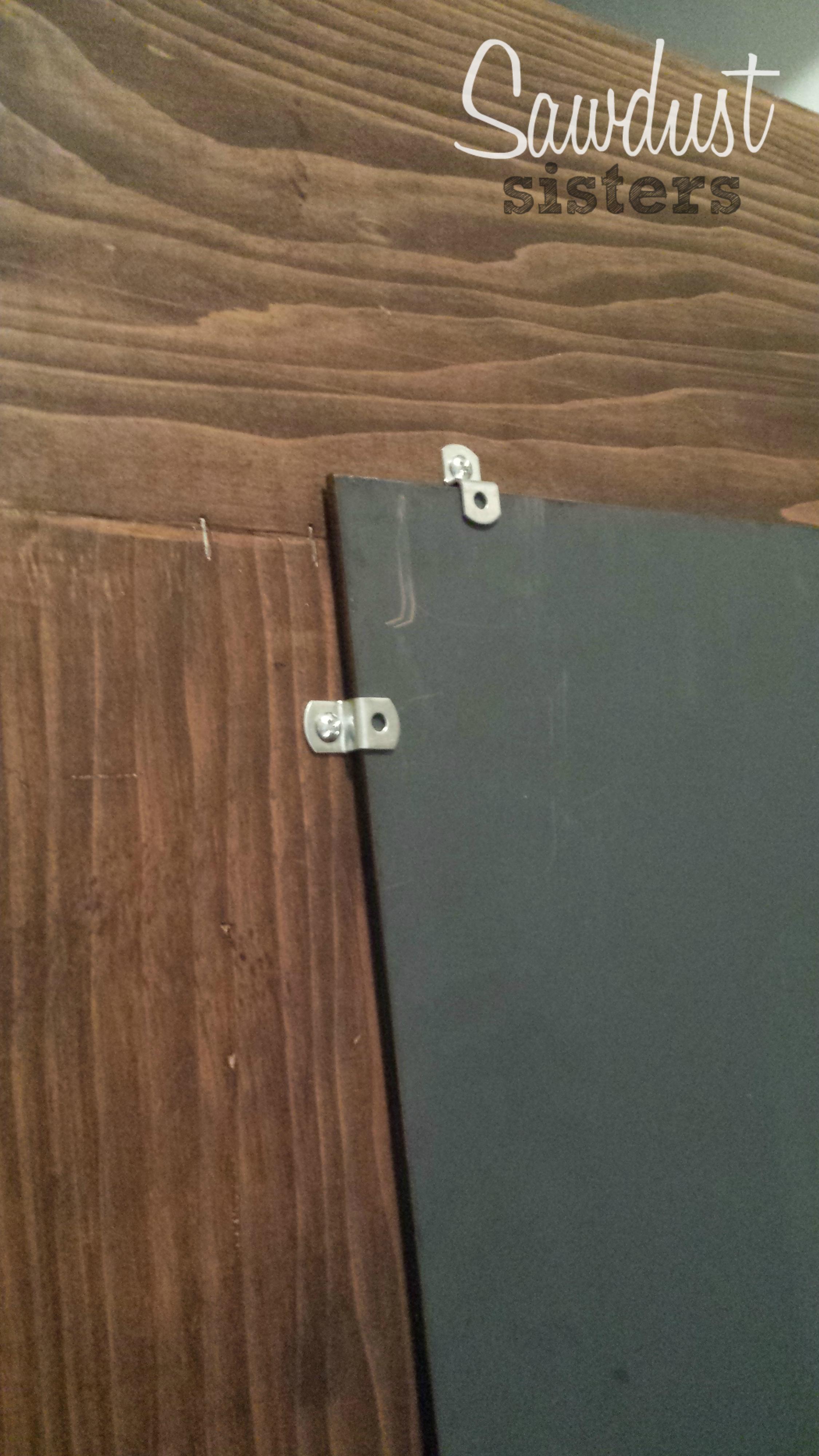 DIY Floor Length Mirror Frame Tutorial - Sawdust Sisters