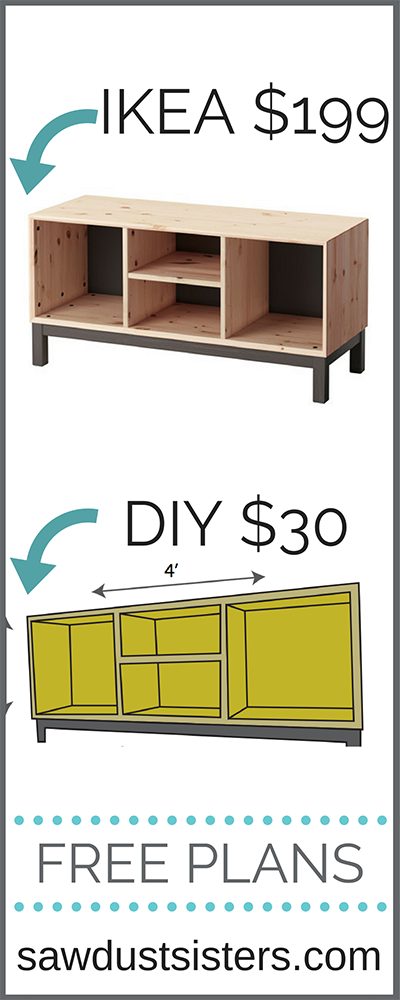 FREE PLANS to build this simple bench!