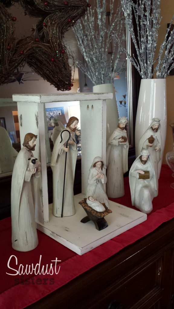 Build Your Own Stylish And Easy Custom Diy Nativity Stable