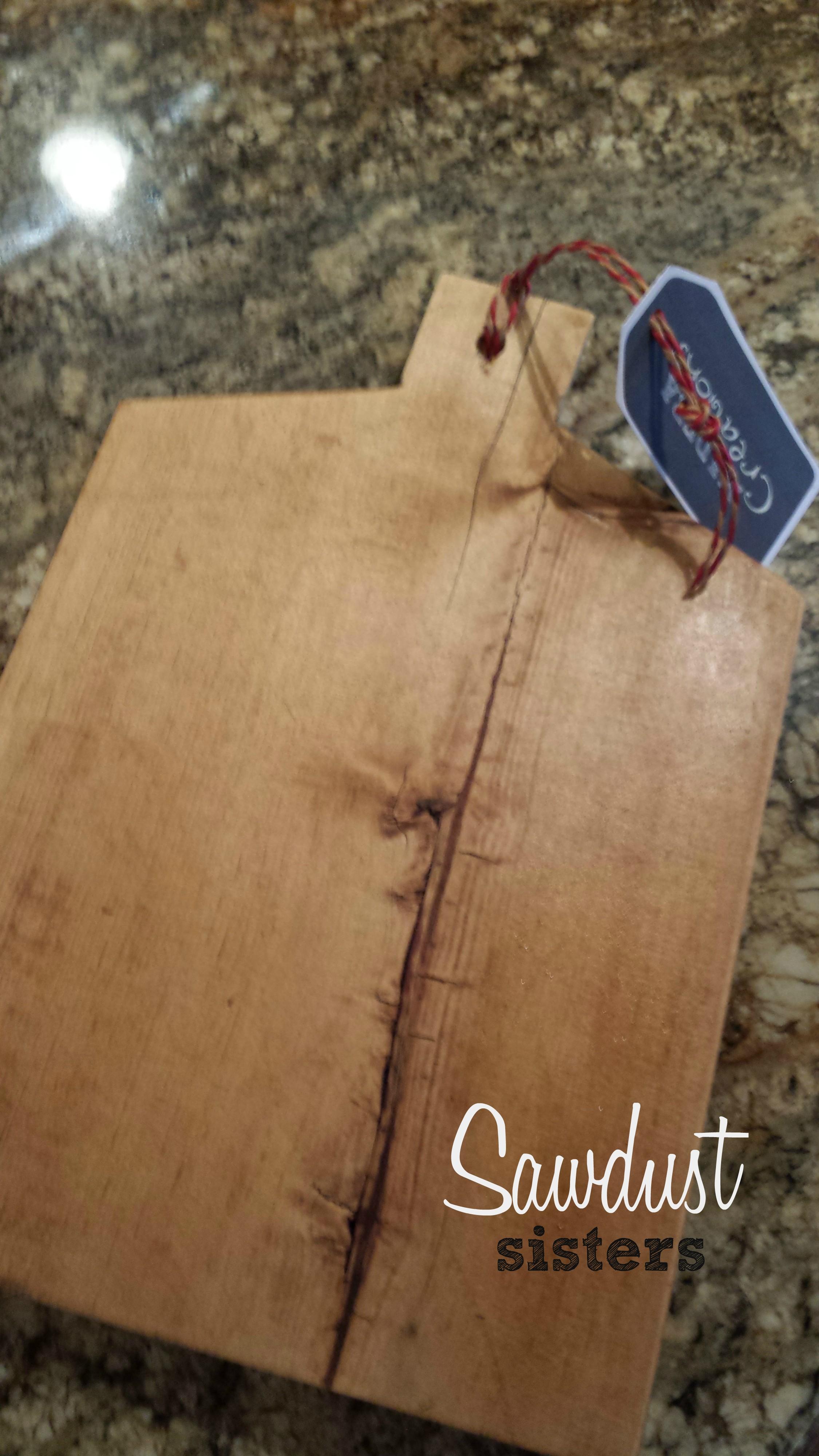 diy cutting board by sawdust sisters
