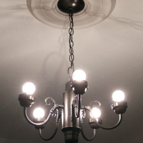DIY Simple Chandelier Makeover