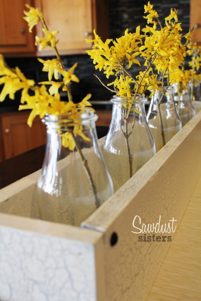 Diy Wooden Box Centerpiece Sawdust Sisters