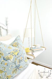 Easy 2x4 projects. Build a hanging nightstand using only 2x4s.