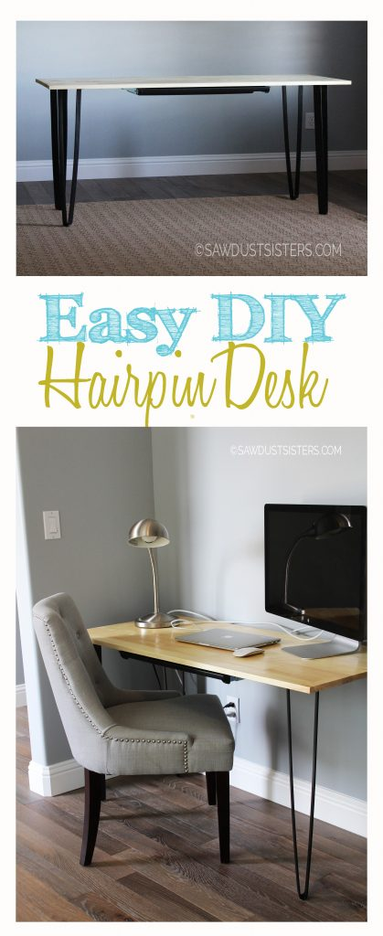 DIY Writing Desk with Pencil Drawer