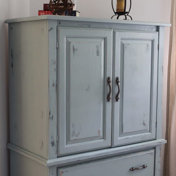 Milk Paint Armoire Renovation