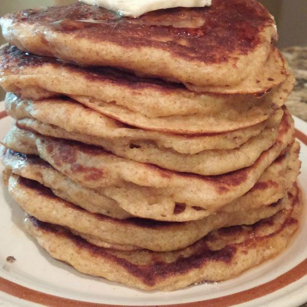 Pancake Recipe-100% Whole Wheat
