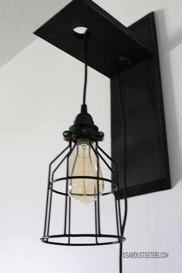 Custom Cage Light Sconce