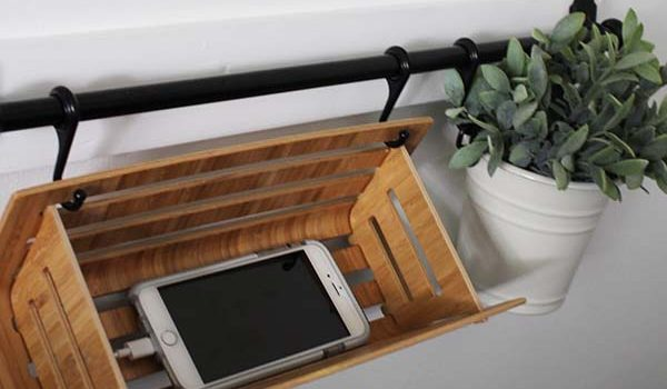 DIY Phone Charger Station IKEA Hack