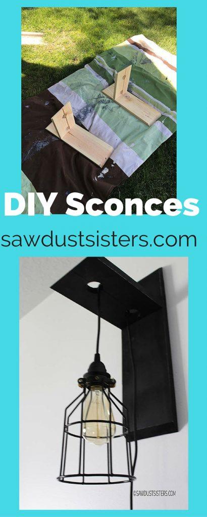 DIY Sconces