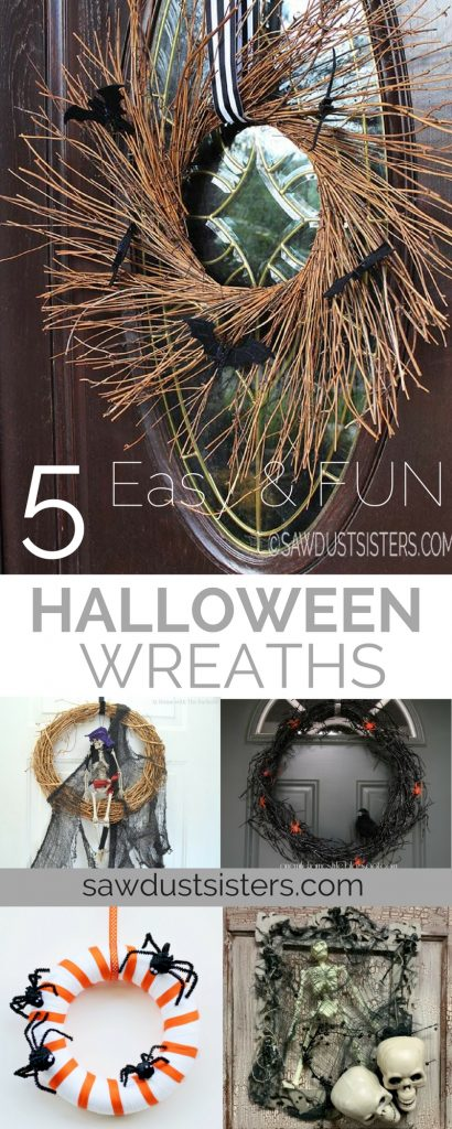 Super Cute DIY Halloween Wreath Ideas