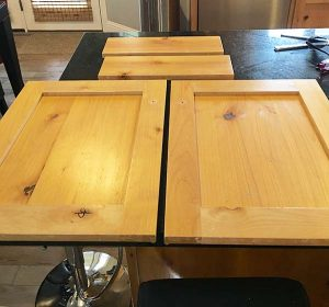 easy way to fill knots on wood