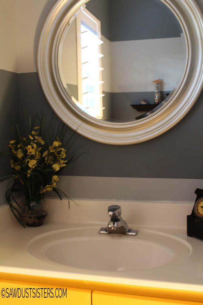 $100 Powder room makeover
