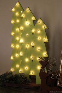 5 Imaginative Wood Christmas Tree Ideas