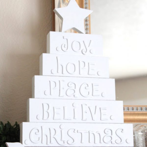 5 Imaginative Wood Christmas Trees