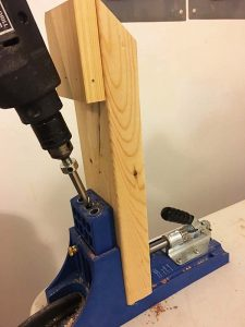 diy-stocking-holder-pocket-hole-drill