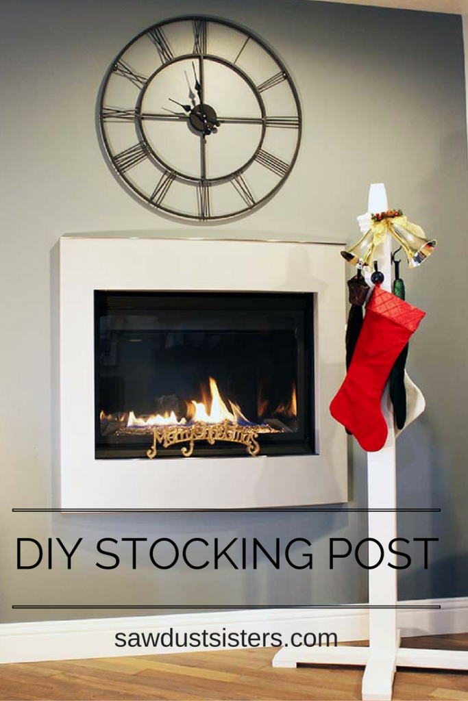 DIY Stocking Post