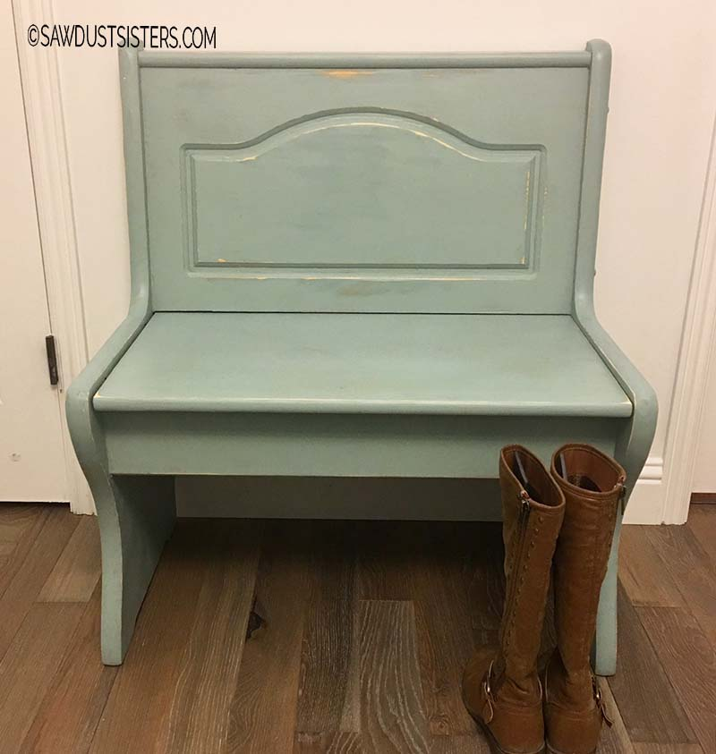 Mudroom Bench Makeover