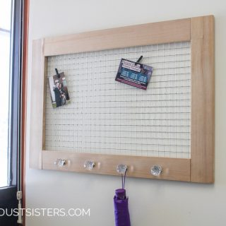 Easy DIY Memo Board. So Cute!!