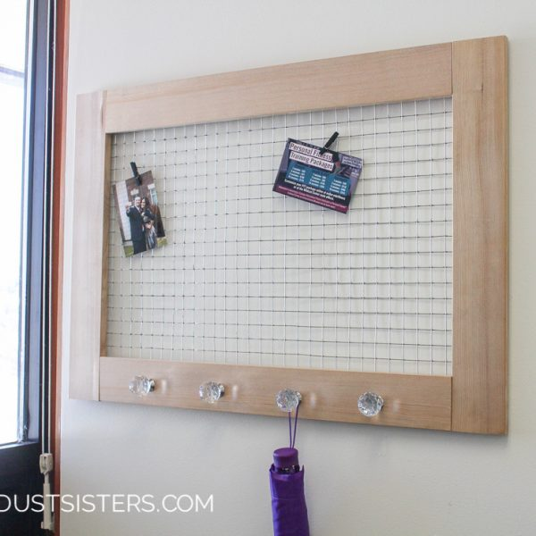 Simple DIY Memo Board for the Office