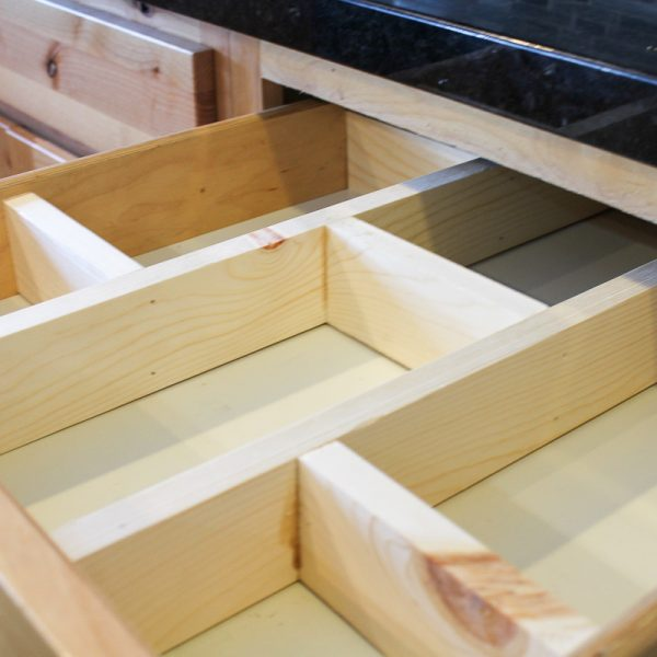 Super Easy DIY Drawer Divider Insert