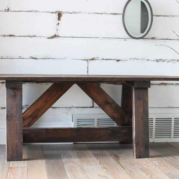 10 Gorgeous Wood Benches to Buy or DIY