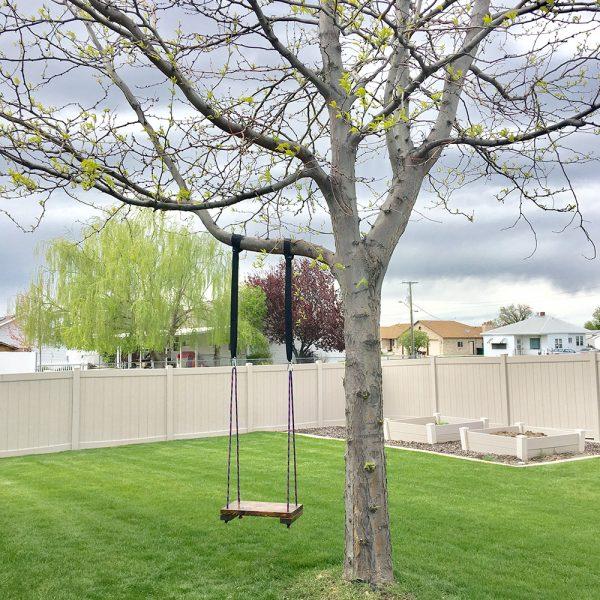 Super Easy DIY Tree Swing