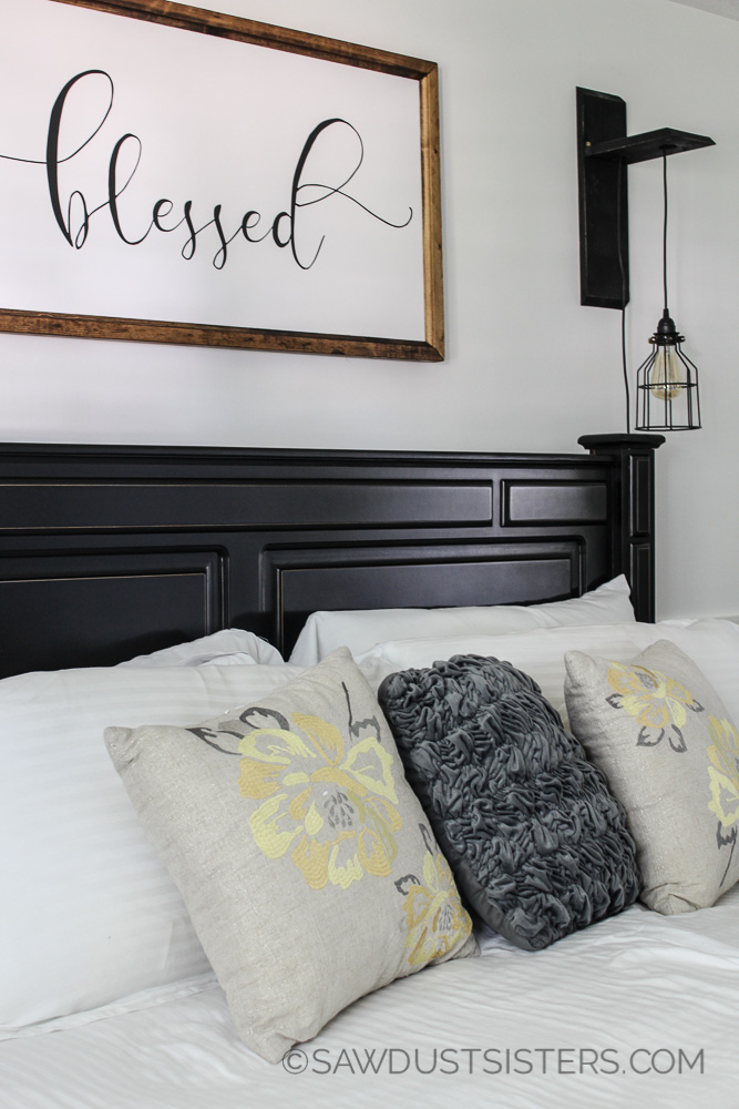 Cheap Bedroom Decor Ideas! Love this!