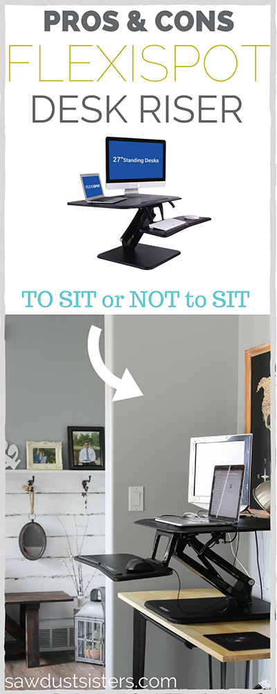 A brutally honest review of the FLEXISPOT Desk Riser. Is standing right for you?