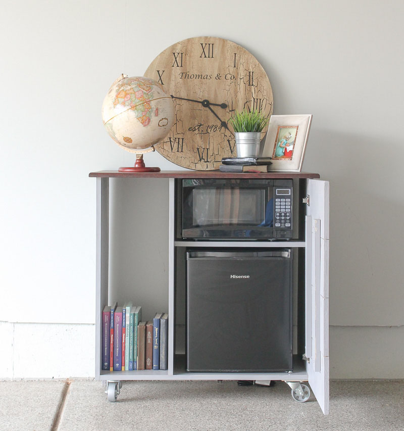 Mini Refrigerator And Microwave Storage Cabinet I Need This For My Guest Room