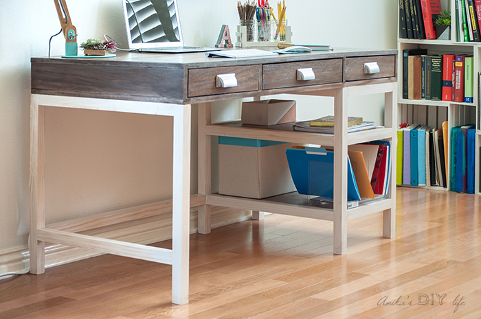 Gorgeous Kreg Jig Projects. I love this desk!