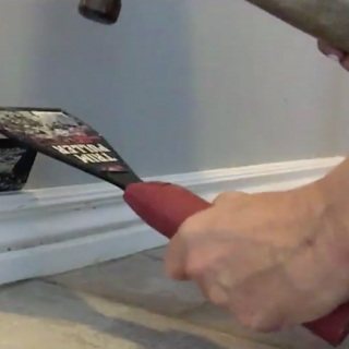 How to Remove Baseboards…and what NOT to do {video tutorial}