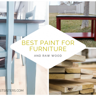 The BEST paint for both existing furniture AND raw wood. Don't fret, painting does not have to be stressful!