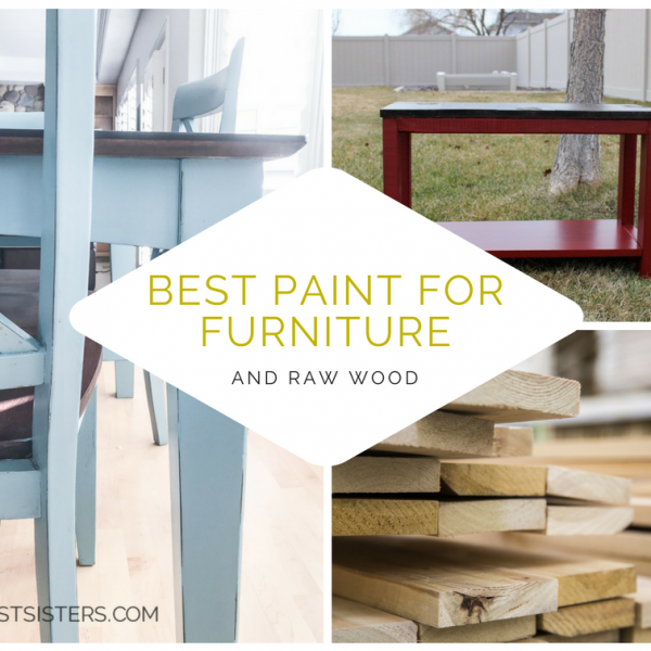 Best Paint for Furniture and Raw Wood