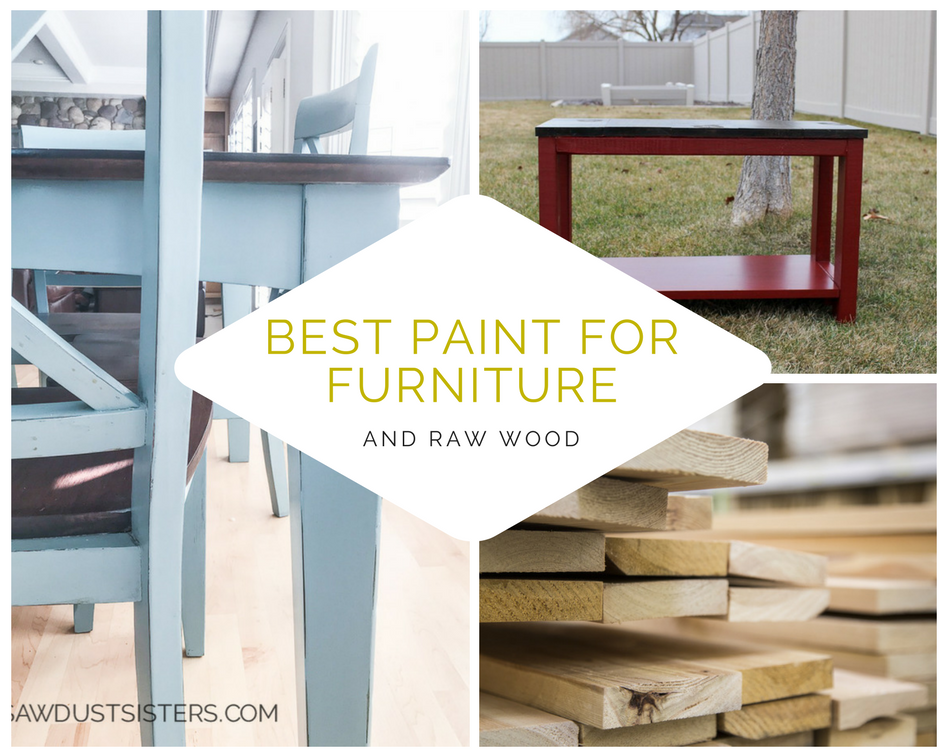 Raw Furniture #34 - The BEST Paint For Both Existing Furniture AND Raw Wood. Donu0027t Fret,