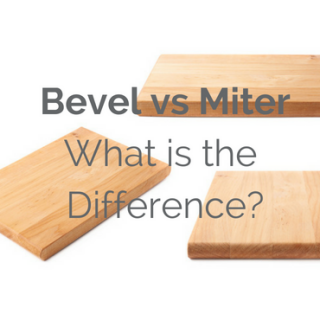 Whether you are looking to build a simple picture frame or cutting crown molding, understanding the differences between bevel vs miter cuts will take your woodworking to the next level. This tutorial is written for beginner woodworkers looking to understand the difference between these two common cuts, making it possible to read woodworking plans and create beautiful projects.