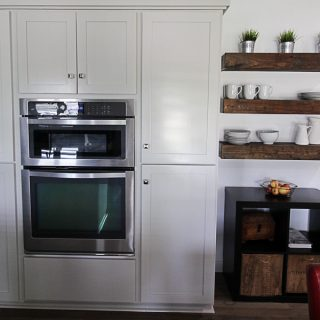 From Knotty Alder to Light Grey Kitchen Cabinets
