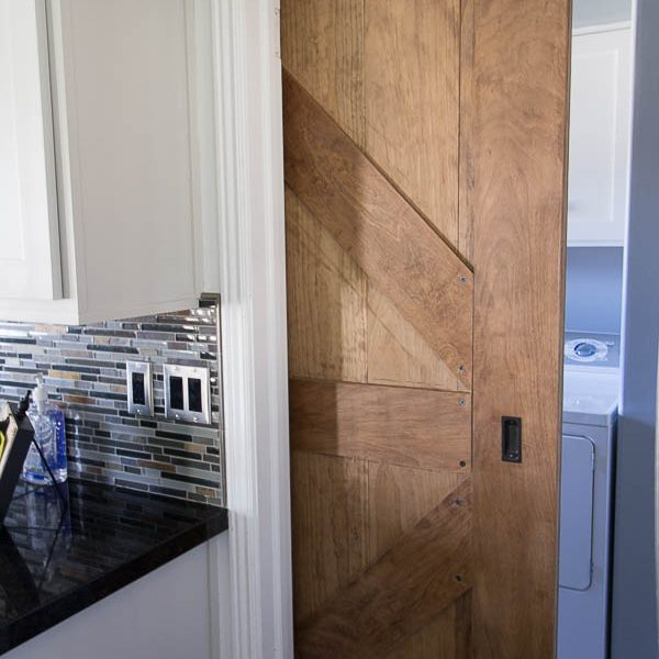 How to Install a Finger Pull on a Sliding Barn Door