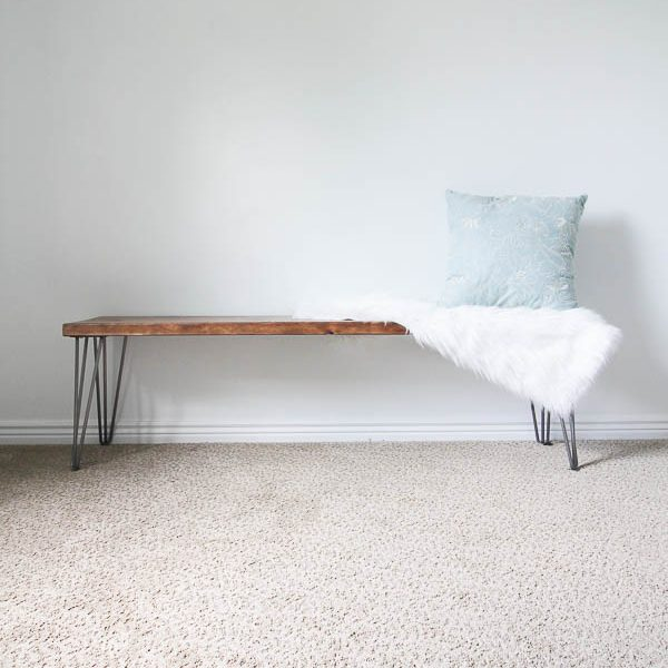 The Easiest Way to Build a Dining Room Bench Seat