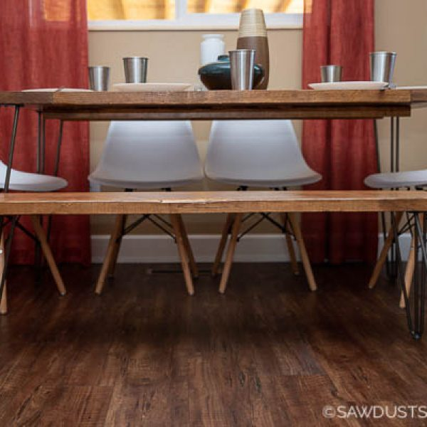 DIY Modern Farmhouse Dining Table for Beginners