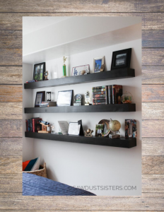 Floating shelves. Free Plans.