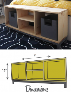IKEA look-alike bench plans