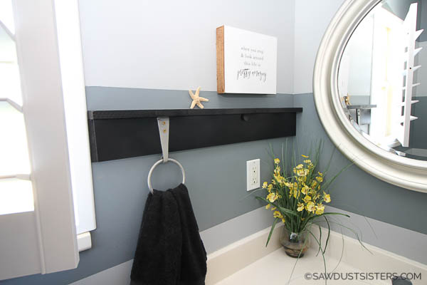 If you want to know how to fix a towel ring holder that is loose, you've come to the right place. Read on for a clever and unconventional (but long-lasting) solution to the problem, and create a pretty space in the process.
