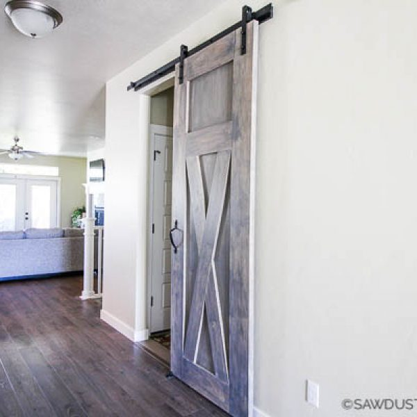 A Quick-n-Dirty Way to Build a Barn Door