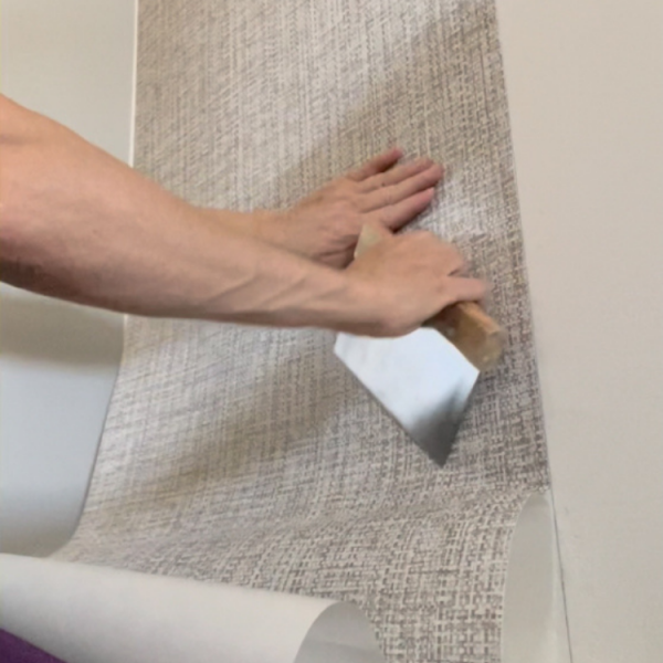 How to hang wallpaper without ruining your walls